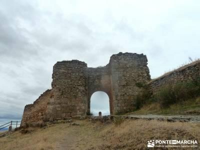 Hoces Río Duratón - Villa Sepúlveda; bola mundo senderismo el escorial